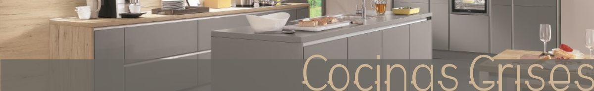 Ver más cocinas en tonos grises de la colección del año 2018