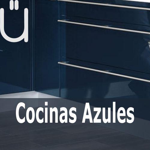 Ver catálogo de cocinas en tonalidades azules