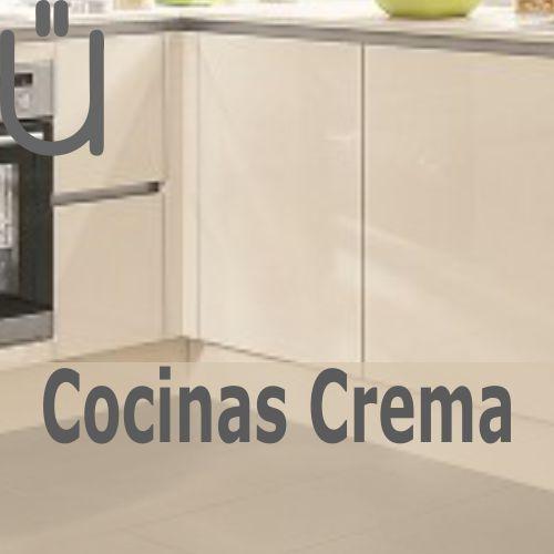 Ver catálogo de cocinas en tonos crema