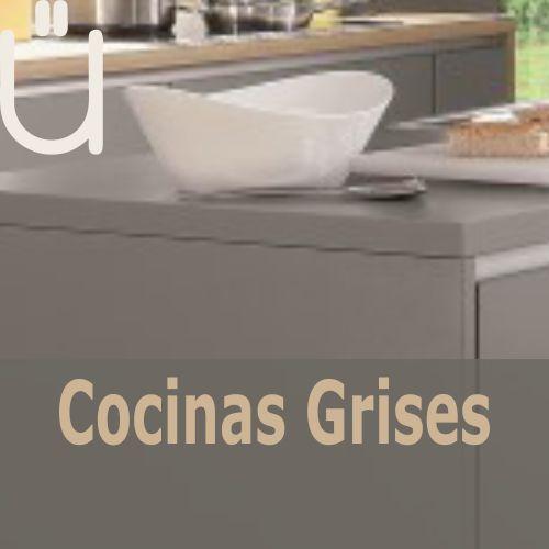 Ver catálogo de cocinas en tonalidades grises