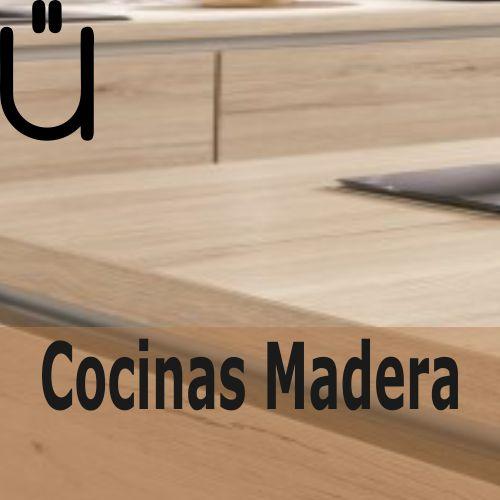 Ver catálogo de cocinas en tonos madera