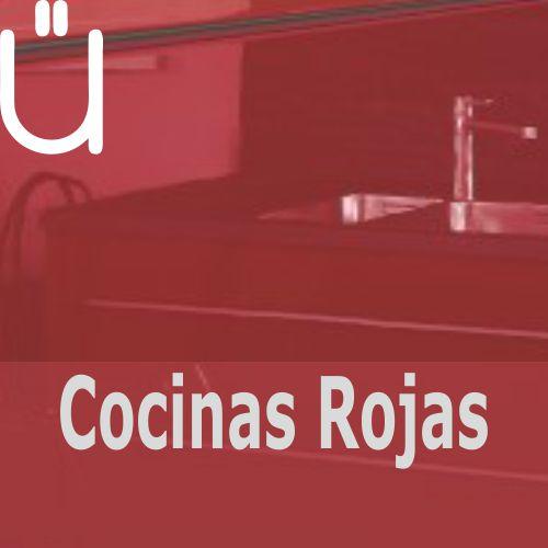 Ver catálogo de cocinas en colores rojos