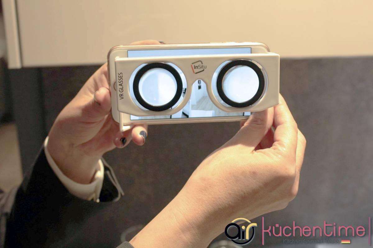 Visualización proyectos en 3D de cocinas en teléfono móvil