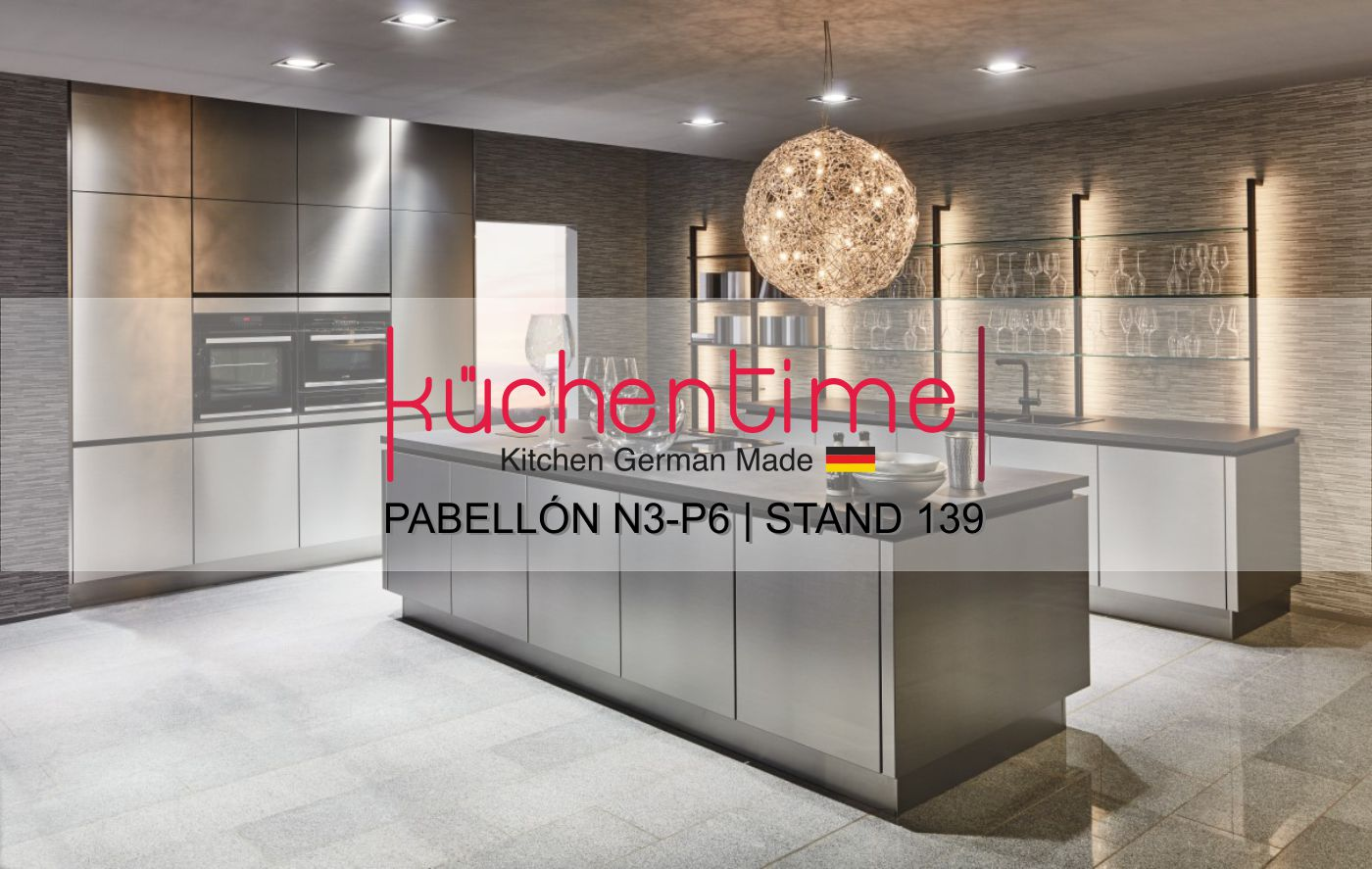 Invitación KüchenTime Valencia en Espacio Cocina - SICI 2019 en Feria Valencia