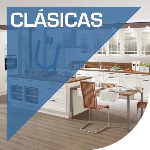 Mobiliario clásico de cocinas en Valencia