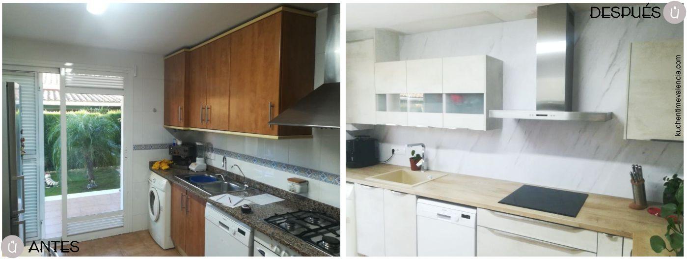 Proyectos integrales de cocina realizados por Küchen Time Valencia