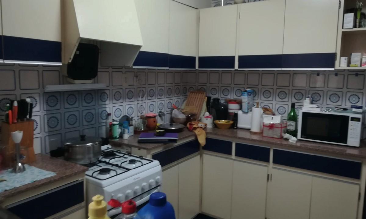 Estado antes de instalar mobiliario de cocina alemán en una cocina de Paterna